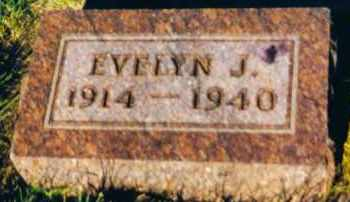 MAXWELL, EVELYN J. - Clay County, South Dakota | EVELYN J. MAXWELL - South Dakota Gravestone Photos