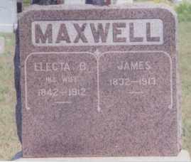 MAXWELL, JAMES - Clay County, South Dakota | JAMES MAXWELL - South Dakota Gravestone Photos
