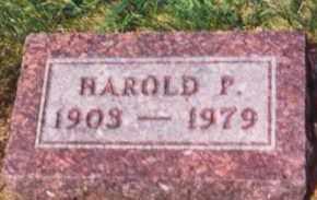 MAXWELL, HAROLD P. - Clay County, South Dakota | HAROLD P. MAXWELL - South Dakota Gravestone Photos