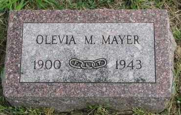 MAYER, OLEVIA M. - Clay County, South Dakota | OLEVIA M. MAYER - South Dakota Gravestone Photos