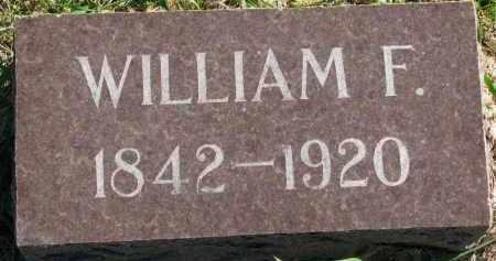 MAYER, WILLIAM F. - Clay County, South Dakota   WILLIAM F. MAYER - South Dakota Gravestone Photos