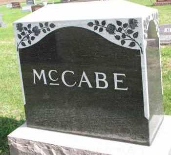 MCCABE, FAMILY STONE - Clay County, South Dakota | FAMILY STONE MCCABE - South Dakota Gravestone Photos