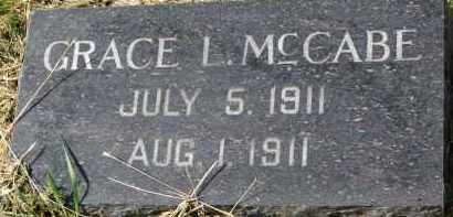 MCCABE, GRACE L. - Clay County, South Dakota | GRACE L. MCCABE - South Dakota Gravestone Photos