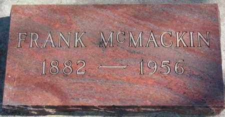 MCMACKIN, FRANK - Clay County, South Dakota | FRANK MCMACKIN - South Dakota Gravestone Photos