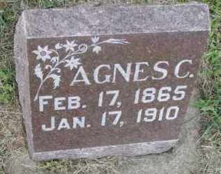 MCMURCHIE, AGNES C. - Clay County, South Dakota | AGNES C. MCMURCHIE - South Dakota Gravestone Photos