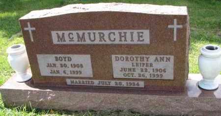 MCMURCHIE, BOYD - Clay County, South Dakota | BOYD MCMURCHIE - South Dakota Gravestone Photos