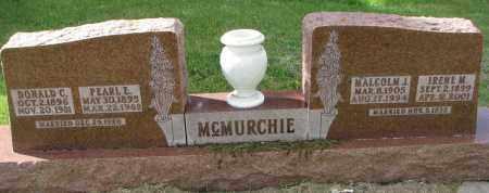 MCMURCHIE, PEARL E. - Clay County, South Dakota | PEARL E. MCMURCHIE - South Dakota Gravestone Photos