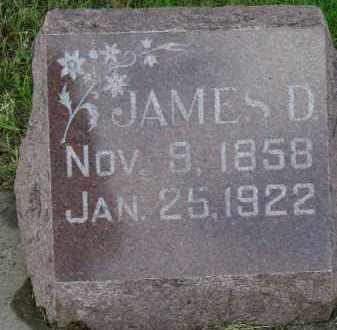 MCMURCHIE, JAMES D. - Clay County, South Dakota | JAMES D. MCMURCHIE - South Dakota Gravestone Photos