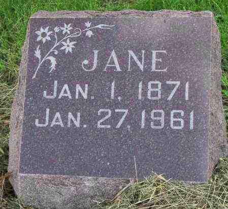 MCMURCHIE, JANE - Clay County, South Dakota   JANE MCMURCHIE - South Dakota Gravestone Photos
