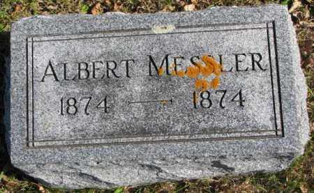 MESSLER, ALBERT - Clay County, South Dakota | ALBERT MESSLER - South Dakota Gravestone Photos