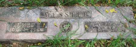 MESSLER, AGNES K. - Clay County, South Dakota | AGNES K. MESSLER - South Dakota Gravestone Photos