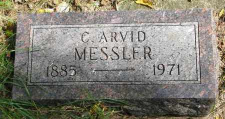 MESSLER, C. ARVID - Clay County, South Dakota | C. ARVID MESSLER - South Dakota Gravestone Photos