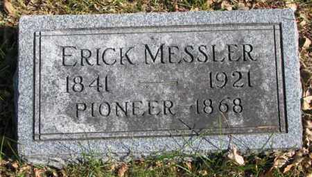 MESSLER, ERICK - Clay County, South Dakota   ERICK MESSLER - South Dakota Gravestone Photos