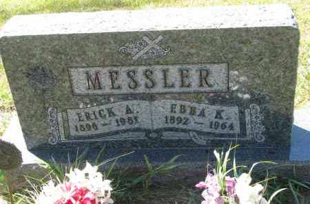 MESSLER, EBBA K. - Clay County, South Dakota | EBBA K. MESSLER - South Dakota Gravestone Photos
