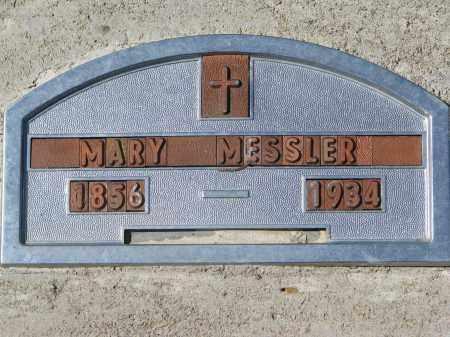 MESSLER, MARY - Clay County, South Dakota | MARY MESSLER - South Dakota Gravestone Photos