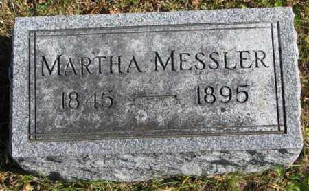 MESSLER, MARTHA - Clay County, South Dakota | MARTHA MESSLER - South Dakota Gravestone Photos