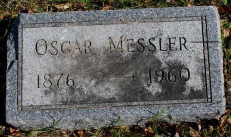 MESSLER, OSCAR - Clay County, South Dakota   OSCAR MESSLER - South Dakota Gravestone Photos