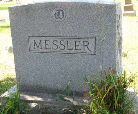MESSLER, PLOT - Clay County, South Dakota | PLOT MESSLER - South Dakota Gravestone Photos