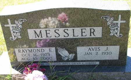 MESSLER, RAYMOND E. - Clay County, South Dakota | RAYMOND E. MESSLER - South Dakota Gravestone Photos