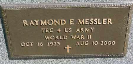 MESSLER, RAYMOND E. (WW II) - Clay County, South Dakota | RAYMOND E. (WW II) MESSLER - South Dakota Gravestone Photos