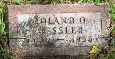 MESSLER, ROLAND O. - Clay County, South Dakota | ROLAND O. MESSLER - South Dakota Gravestone Photos
