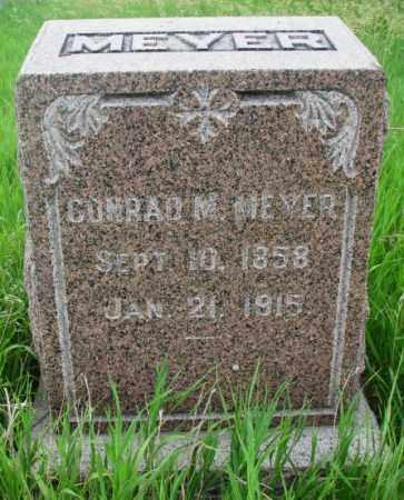 MEYER, CONRAD M. - Clay County, South Dakota | CONRAD M. MEYER - South Dakota Gravestone Photos