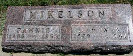MIKELSON, FANNIE - Clay County, South Dakota | FANNIE MIKELSON - South Dakota Gravestone Photos