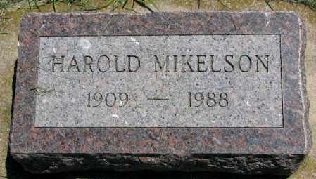 MIKELSON, HAROLD - Clay County, South Dakota   HAROLD MIKELSON - South Dakota Gravestone Photos
