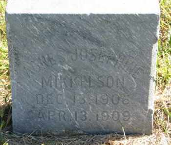 MIKKELSON, AGNES JOSEPHINE - Clay County, South Dakota   AGNES JOSEPHINE MIKKELSON - South Dakota Gravestone Photos