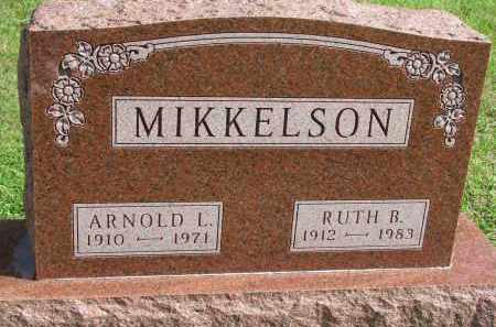 MIKKELSON, RUTH B. - Clay County, South Dakota | RUTH B. MIKKELSON - South Dakota Gravestone Photos