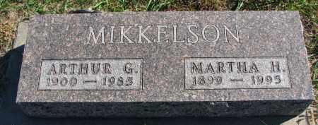 MIKKELSON, ARTHUR G. - Clay County, South Dakota | ARTHUR G. MIKKELSON - South Dakota Gravestone Photos