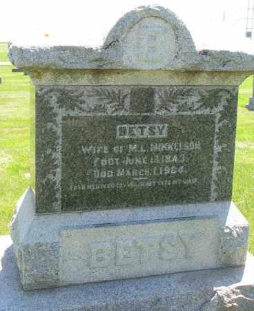 MIKKELSON, BETSY - Clay County, South Dakota | BETSY MIKKELSON - South Dakota Gravestone Photos