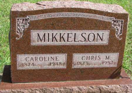 MIKKELSON, CHRIS M. - Clay County, South Dakota   CHRIS M. MIKKELSON - South Dakota Gravestone Photos
