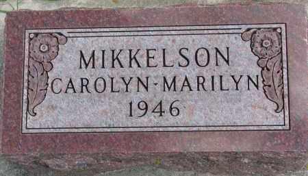 MIKKELSON, MARILYN - Clay County, South Dakota | MARILYN MIKKELSON - South Dakota Gravestone Photos