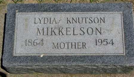 MIKKELSON, LYDIA - Clay County, South Dakota   LYDIA MIKKELSON - South Dakota Gravestone Photos