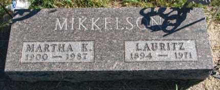 MIKKELSON, LAURITZ - Clay County, South Dakota | LAURITZ MIKKELSON - South Dakota Gravestone Photos