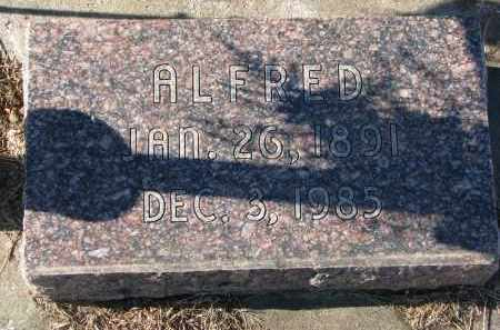 MILLER, ALFRED - Clay County, South Dakota | ALFRED MILLER - South Dakota Gravestone Photos