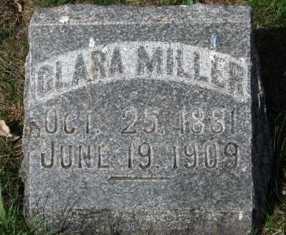 MILLER, CLARA - Clay County, South Dakota | CLARA MILLER - South Dakota Gravestone Photos