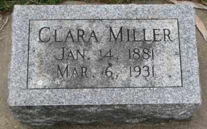 MILLER, CLARA - Clay County, South Dakota   CLARA MILLER - South Dakota Gravestone Photos