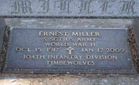 MILLER, ERNEST (WW II) - Clay County, South Dakota | ERNEST (WW II) MILLER - South Dakota Gravestone Photos