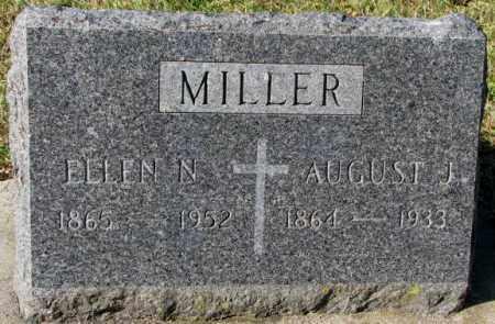 MILLER, ELLEN N. - Clay County, South Dakota | ELLEN N. MILLER - South Dakota Gravestone Photos
