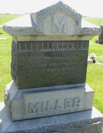MILLER, FAMILY STONE - Clay County, South Dakota   FAMILY STONE MILLER - South Dakota Gravestone Photos