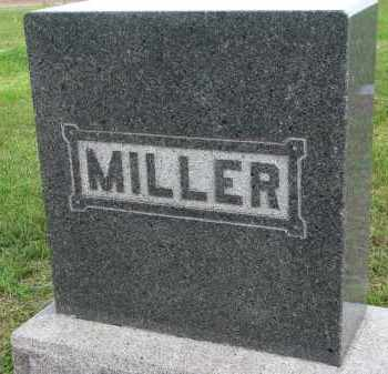 MILLER, FAMILY STONE - Clay County, South Dakota | FAMILY STONE MILLER - South Dakota Gravestone Photos