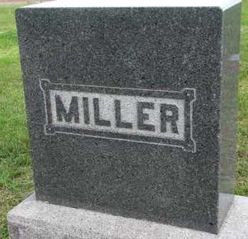 MILLER, FAMILY STONE - Clay County, South Dakota | FAMILY STONE MILLER - South Dakota Gravestone Photos