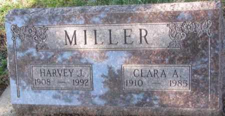 MILLER, HARVEY J. - Clay County, South Dakota | HARVEY J. MILLER - South Dakota Gravestone Photos