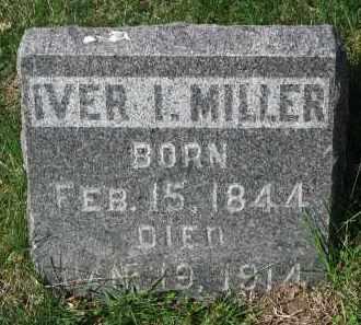 MILLER, IVER I. - Clay County, South Dakota | IVER I. MILLER - South Dakota Gravestone Photos