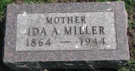 MILLER, IDA A. - Clay County, South Dakota | IDA A. MILLER - South Dakota Gravestone Photos