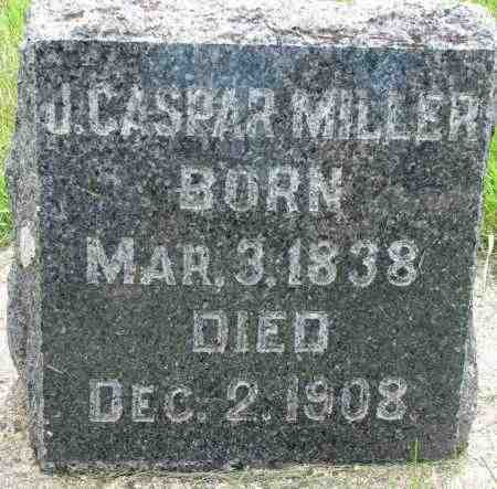 MILLER, J. CASPAR - Clay County, South Dakota | J. CASPAR MILLER - South Dakota Gravestone Photos