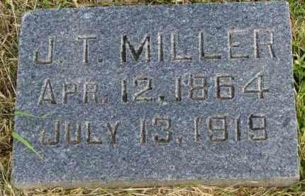 MILLER, J.T. - Clay County, South Dakota | J.T. MILLER - South Dakota Gravestone Photos