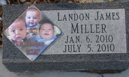 MILLER, LANDON JAMES - Clay County, South Dakota | LANDON JAMES MILLER - South Dakota Gravestone Photos